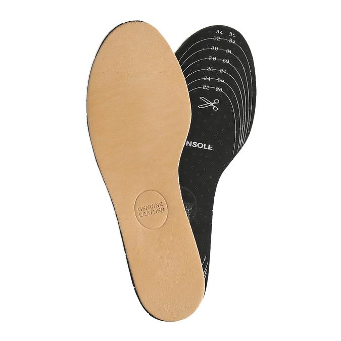 Kožené stélky do dětských bot pro pohodlnější chůzi bata, neutrální, 990-0219 - 26