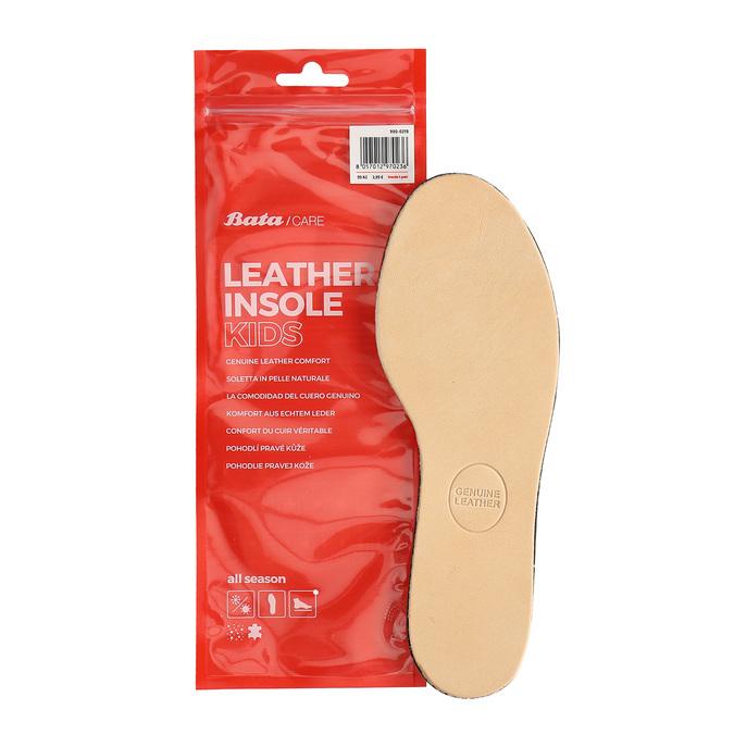Kožené stélky do dětských bot pro pohodlnější chůzi bata, neutrální, 990-0219 - 13