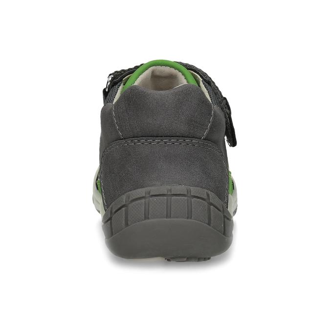Šedá dětská kotníčková obuv bubblegummers, šedá, 111-2634 - 15