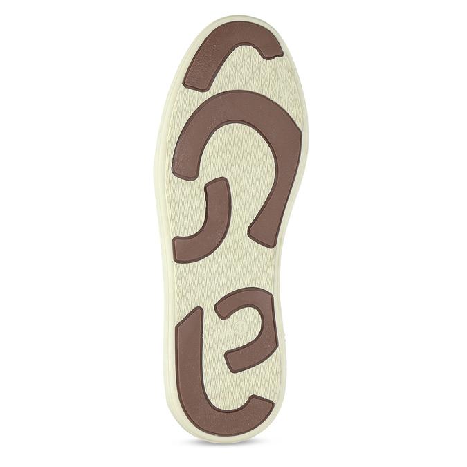 Černé pánské kožené ležérní tenisky bata, černá, 846-6606 - 18