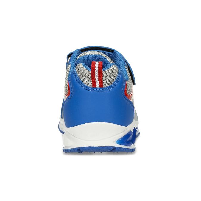 Modré dětské tenisky s potiskem mini-b, modrá, 211-9635 - 15