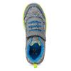 Dětské šedé tenisky s neonovým detailem mini-b, šedá, 419-2622 - 17