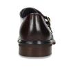 Kožené červené pánské Monk polobotky bata, červená, 826-5656 - 15