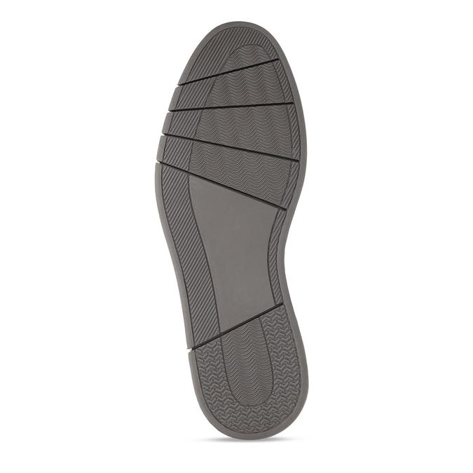 Pánské šedé neformální polobotky bata-red-label, šedá, 829-2605 - 18