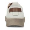 Bílé dámské kožené tenisky s perforací weinbrenner, bílá, 546-1601 - 15