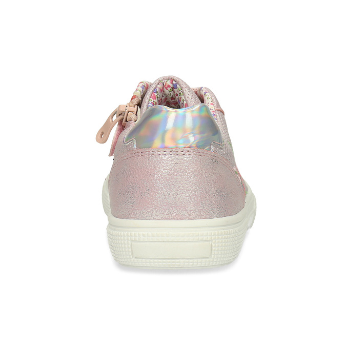 Dětské růžové tenisky s výšivkou mini-b, růžová, 321-5636 - 15