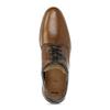 Pánské kožené hnědé neformální polobotky bata, hnědá, 826-3604 - 17