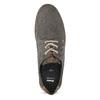 Pánské šedé polobotky z broušené kůže bata, šedá, 823-2609 - 17