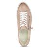 Kožené růžové tenisky na flatformě bata, růžová, 544-5602 - 17