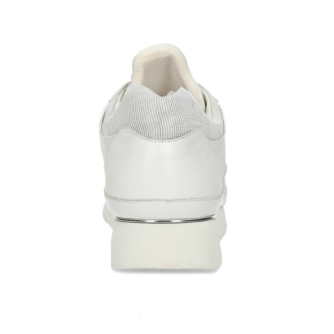 Dámské kožené bílé tenisky městského typu bata, bílá, 524-1609 - 15