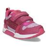 Dívčí tenisky na suchý zip růžové bubble-breathe, růžová, 221-5621 - 13