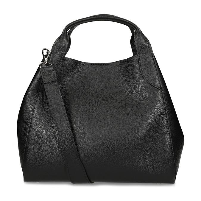 Černá kožená kabelka bata, černá, 964-6126 - 16