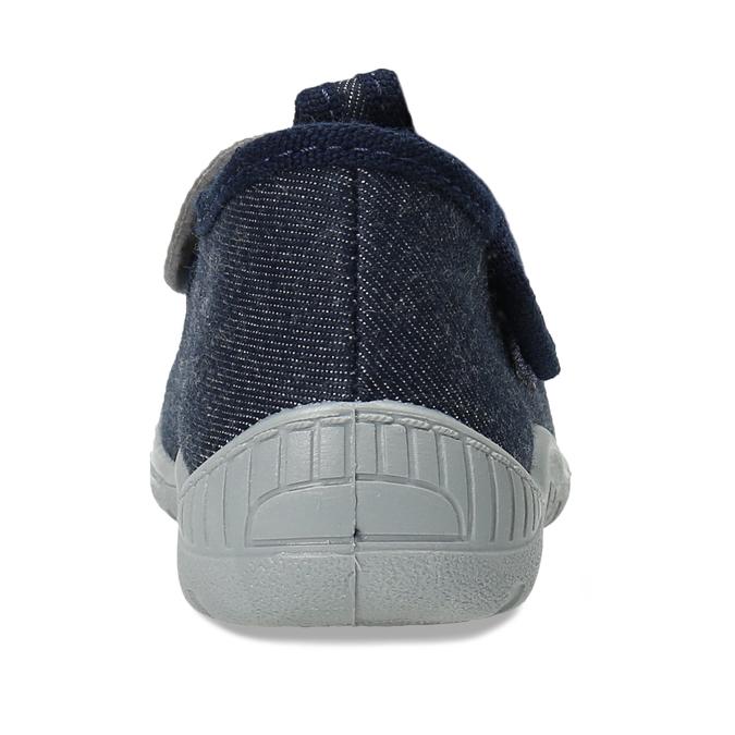 Modré dětské papuče s myškou mini-b, modrá, 179-9604 - 15
