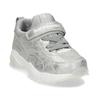 Stříbrné dívčí tenisky se suchým zipem bubblegummers, stříbrná, 321-1630 - 13