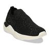 Dámská černá slip-on obuv se třpytkami bata-light, černá, 531-6602 - 13