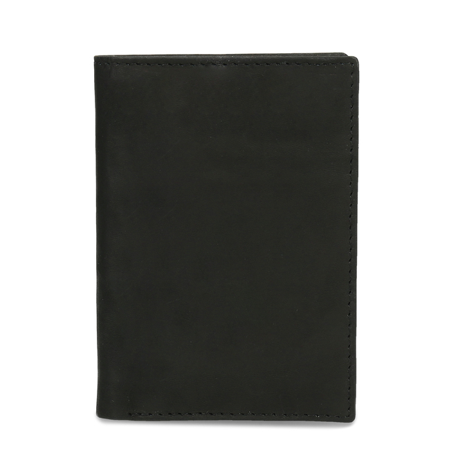 Kožené pouzdro na karty bata, černá, 944-6158 - 16