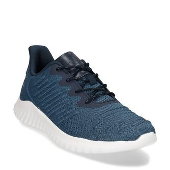 Modré pánské sportovní tenisky power, modrá, 809-9524 - 13
