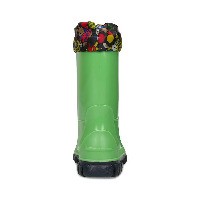 Dětské zelené holínky mini-b, zelená, 192-7610 - 15