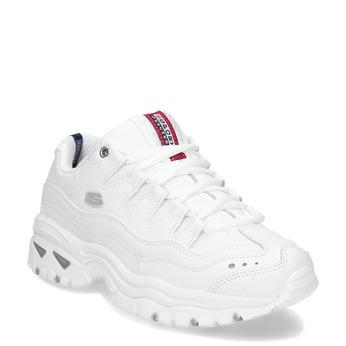 Bílé dámské Chunky tenisky skechers, bílá, 501-1437 - 13