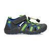 Dětské sandály s modrými a zelenými detaily mini-b, modrá, 461-2706 - 19