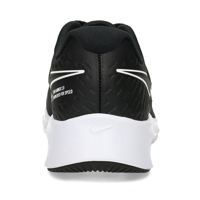 Černé chlapecké sportovní tenisky nike, černá, 401-6301 - 15