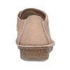Dámská kožená obuv s hadí texturou clarks, růžová, 546-5660 - 15