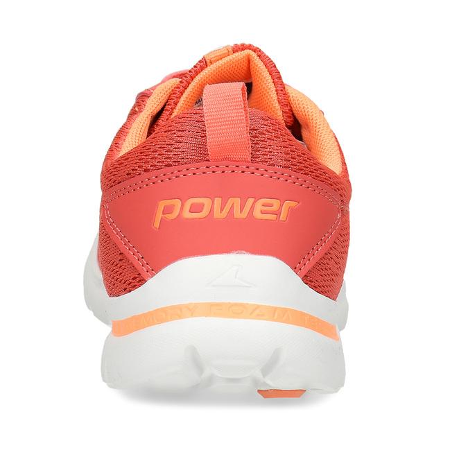 Oranžové dívčí sportovní tenisky power, oranžová, 409-5532 - 15