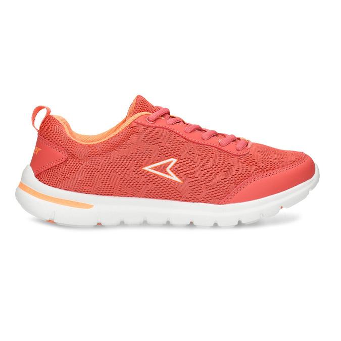 Oranžové dívčí sportovní tenisky power, oranžová, 409-5532 - 19