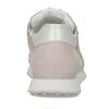Světle růžové dámské kožené městské tenisky hogl, růžová, 546-5102 - 15