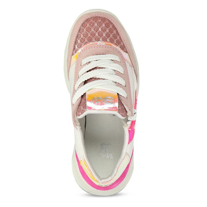 Dětské tenisky s růžovými a neonovými detaily mini-b, růžová, 429-5623 - 17