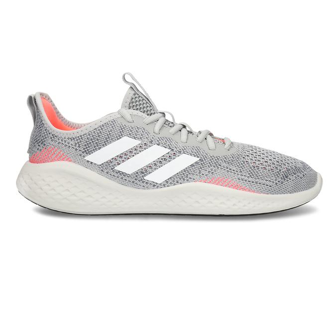 Běžecké pánské tenisky šedé adidas, šedá, 809-2911 - 19