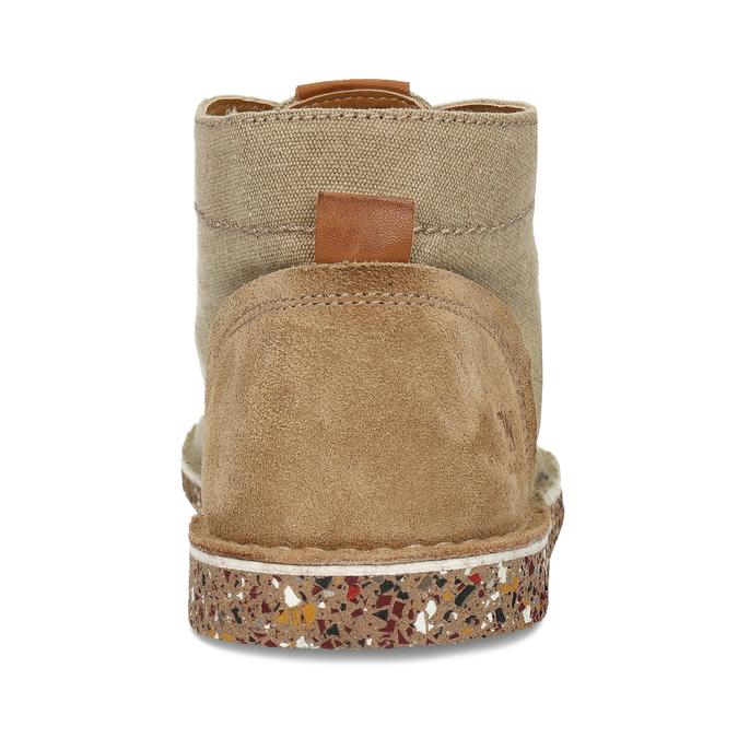 Béžová pánská kožená kotníková obuv weinbrenner-nature, béžová, 829-8618 - 15