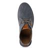 Pánská kožená kotníková eko obuv s korkem weinbrenner-nature, modrá, 829-9618 - 17