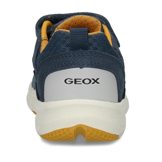 Modré chlapecké tenisky na suchý zip geox, modrá, 319-9715 - 15