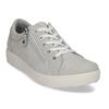 Dámské kožené šedé tenisky městského stylu comfit, šedá, 546-2605 - 13