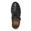 Černé pánské kožené sandály comfit, černá, 854-6761 - 17
