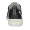 Černé dámské kožené polobotky flexible, černá, 524-6619 - 15