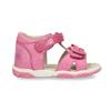 Růžové dětské sandály s mašličkou bubblegummers, růžová, 161-5613 - 19
