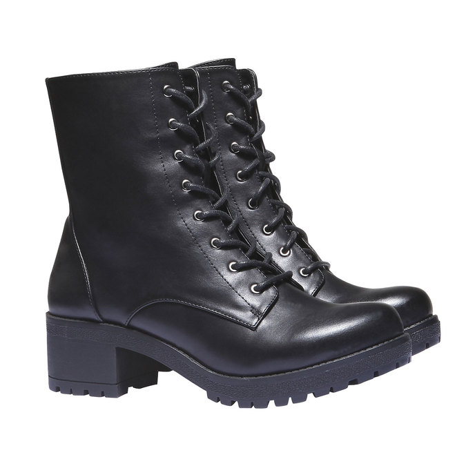 Kotníčková obuv s masivní podešví bata, 2020-691-6147 - 26