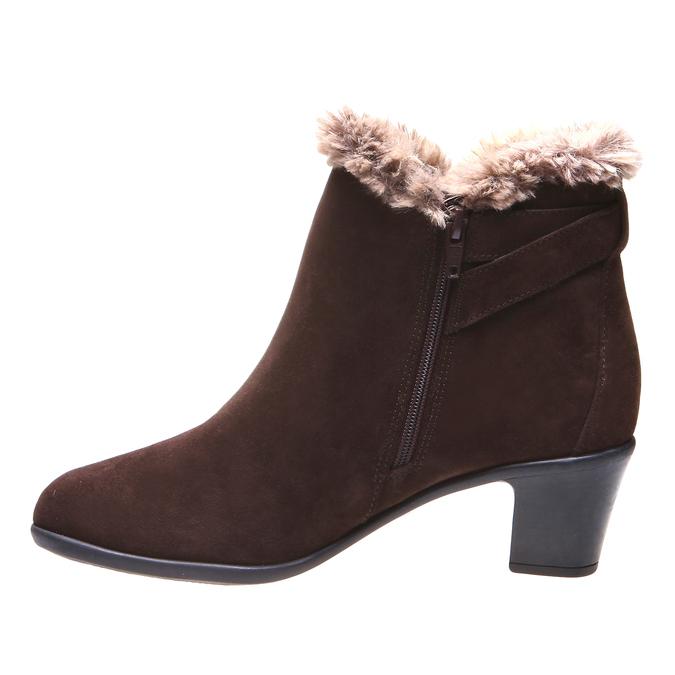 Roxy - kotníčková obuv, hnědá, 2018-693-4106 - 15