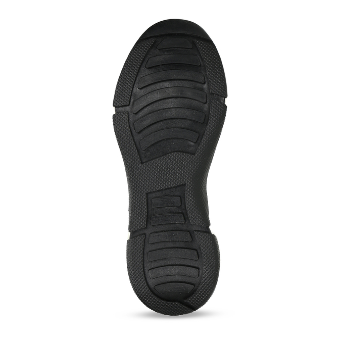Černo-růžové dámské Chunky tenisky bata, vícebarevné, 549-5601 - 18