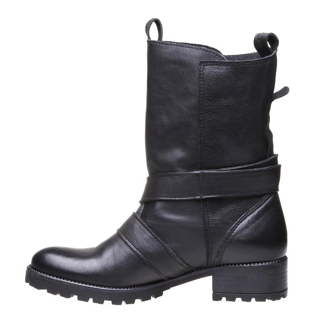 Marlyn - motorkářská obuv bata, černá, 2018-594-6318 - 15