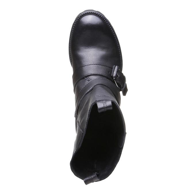 Marlyn - motorkářská obuv bata, černá, 2018-594-6318 - 19