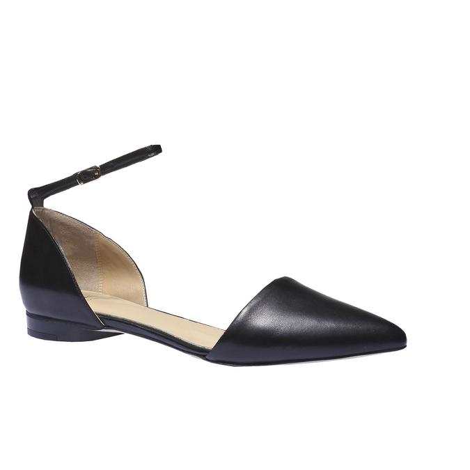 Kožená obuv s průstřihy bata, 2018-524-6247 - 13