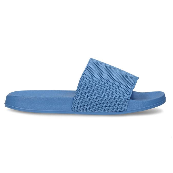 Modré chlapecké pantofle pata-pata, modrá, 479-9600 - 19