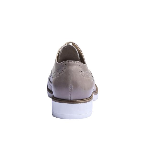Dámské polobotky bata, hnědá, 2019-524-8133 - 17