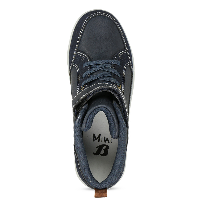 Dětská kotníková obuv černá mini-b, modrá, 311-9601 - 17