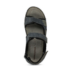 Pánské kožené sandály na suchý zip weinbrenner, modrá, 866-9603 - 17