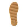 Červené dámské kožené sandály na hrubé podešvi gabor, červená, 563-5104 - 18