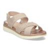Béžové dámské sandály na suchý zip bata, béžová, 569-8605 - 13